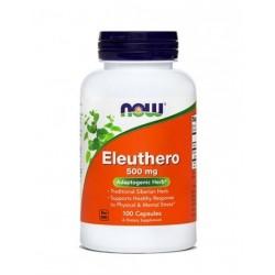 NOW Eleuthero - sibirski ginseng 500 mg, kapsule