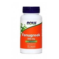 NOW Fenugreek - Sabljasti Triplat 500 mg, kapsule