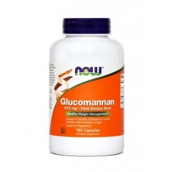 NOW Glukomanan 575 mg, kapsule