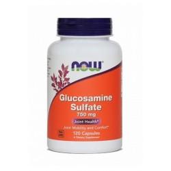 NOW Glukozaminijev sulfat 750 mg, kapsule