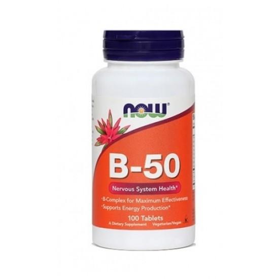 NOW B kompleks, tablete Prehrana in dopolnila