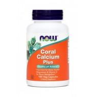 NOW Koralni kalcij Plus, kapsule
