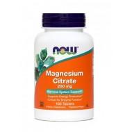 NOW Magnezijev citrat 200 mg, tablete