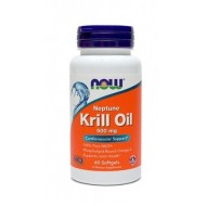 NOW Neptunovo krilovo olje 500 mg, kapsule