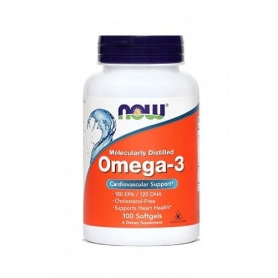 NOW Omega-3 1000 mg, kapsule Prehrana in dopolnila