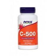 NOW Vitamin C-500, tablete