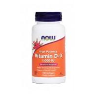 NOW Vitamin D-3 1000 IE, kapsule