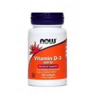NOW Vitamin D-3 400 IE, kapsule