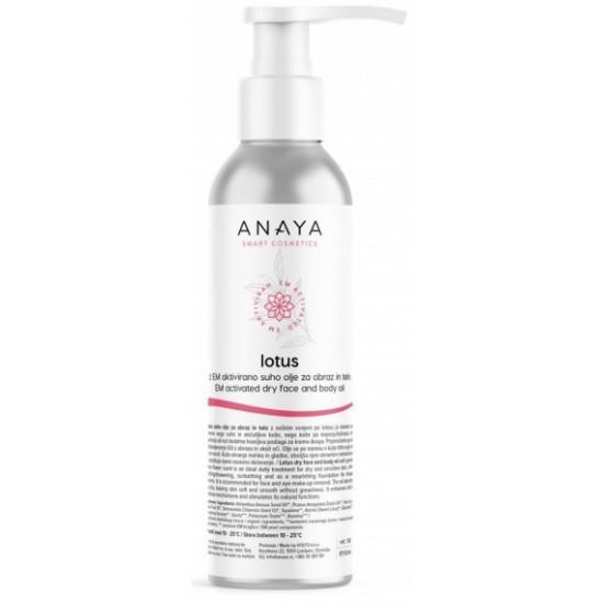 Anaya Lotus, suho olje za obraz in telo Kozmetika