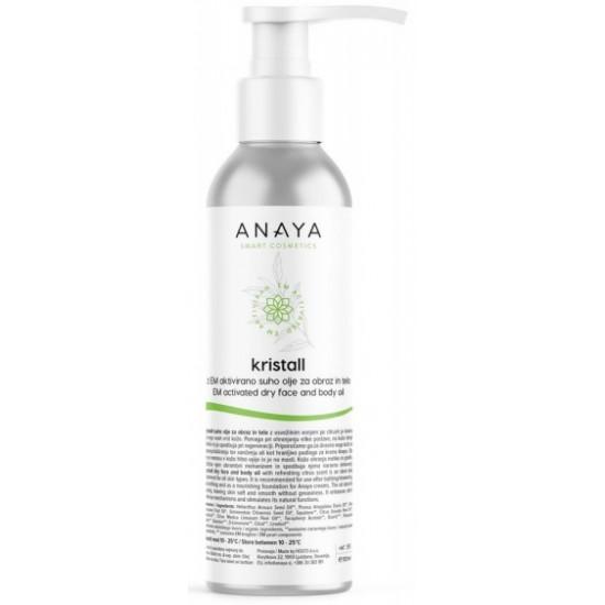 Anaya Kristall, suho olje za obraz in telo Kozmetika