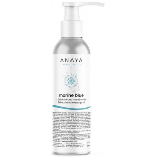 Anaya Marine Blue, olje za telo Kozmetika