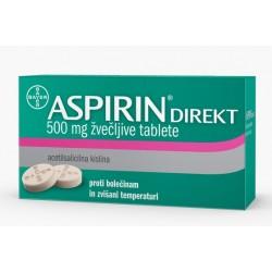 Aspirin Direkt, žvečljive tablete