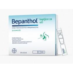 Bepanthol, kapljice za oči
