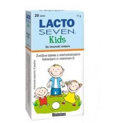 Lactoseven Kids, 20 žvečljivih tablet