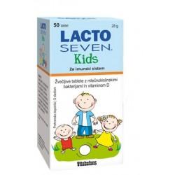 Lactoseven Kids, 50 žvečljivih tablet
