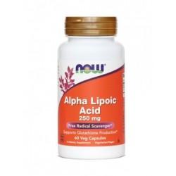 NOW Alfa Lipoična kislina 250 mg, kapsule