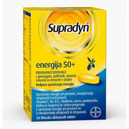 Supradyn Energija 50+, filmsko obložene tablete Prehrana in dopolnila