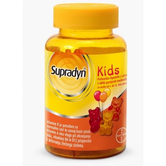 Supradyn Kids, žvečljivi gumijasti medvedki Prehrana in dopolnila