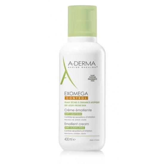 A-Derma Exomega Control, emolientna krema - 400 ml Kozmetika