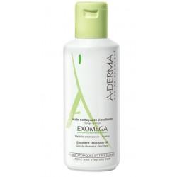 A-Derma Exomega, oljni gel za umivanje - 200 ml