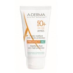 A-derma Protect AC, matirajoči fluid ZF50+