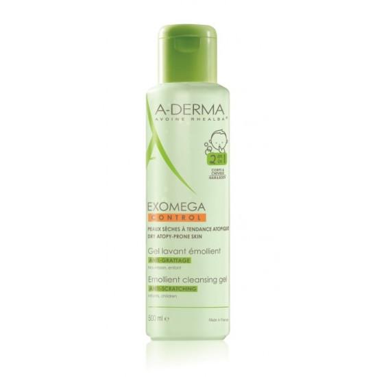 A-Derma Exomega Control, emolientni čistilni gel 2v1 za atopijsko kožo Kozmetika