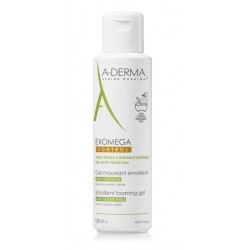 A-Derma Exomega Control, emolientni peneči gel za atopično kožo