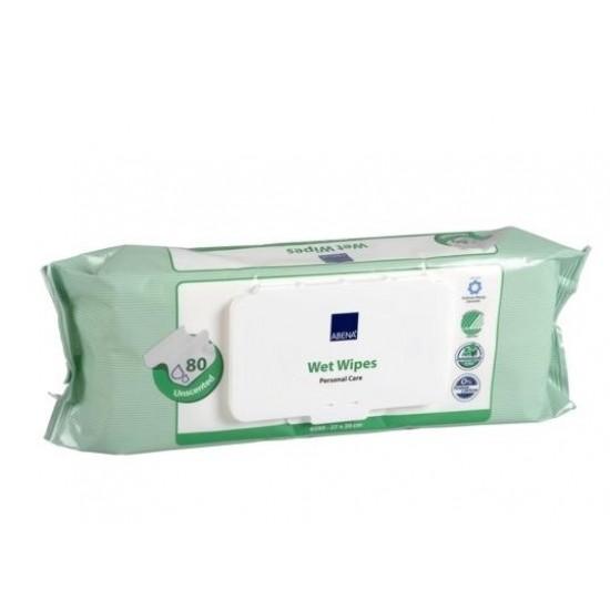 Abena Skincare neodišavljeni čistilni robčki - vrečka Kozmetika