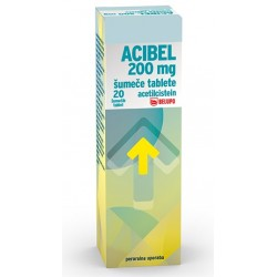 Acibel 200 mg, 20 šumečih tablet
