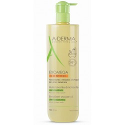 A-Derma Exomega Control, emolientno čistilno olje - 750 ml