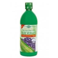 Aloe vera sok z zgoščenim sokom borovnice, 500 ml