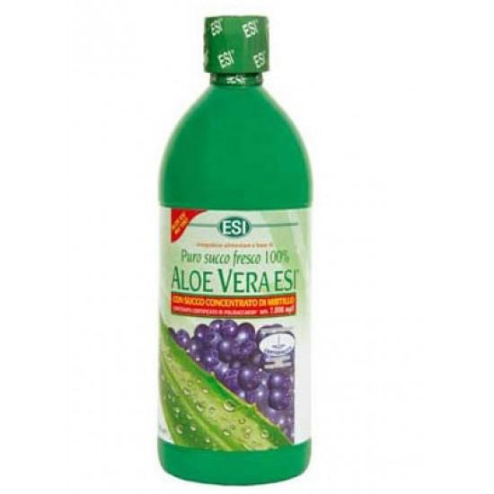 Aloe vera sok z zgoščenim sokom borovnice, 1000 ml Prehrana in dopolnila