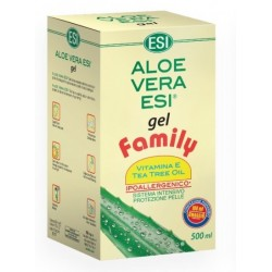 Aloe vera gel z vitaminom E - 500 ml