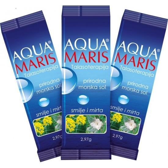 AQUA MARIS® TALASOTERAPIJA naravna morska sol  Kozmetika
