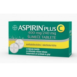 Aspirin plus C, 10 šumečih tablet