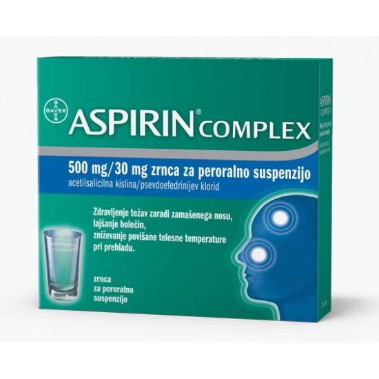 Aspirin Complex, vrečke Zdravila brez recepta