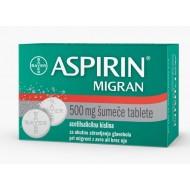 Aspirin Migran, šumeče tablete