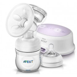 Avent, električna prsna črpalka - natural