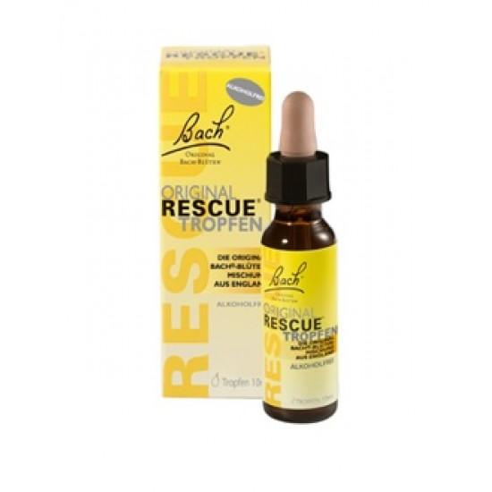 Bach Rescue, kapljice brez alkohola - 10 ml Prehrana in dopolnila