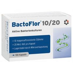 BactoFlor 10/20 - probiotiki za odrasle, 100 kapsul
