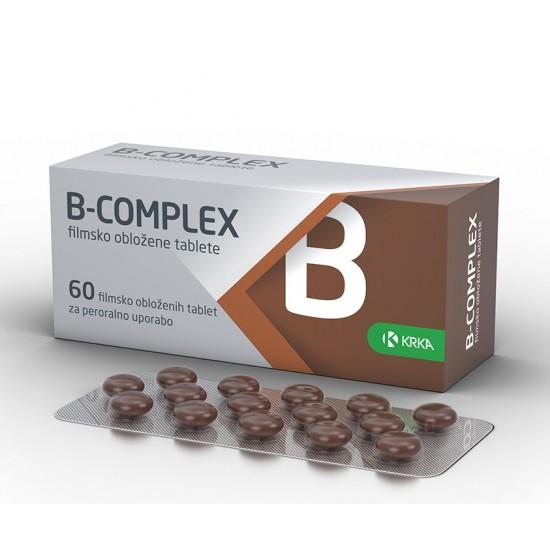 B-complex, 60 filmsko obloženih tablet Zdravila brez recepta
