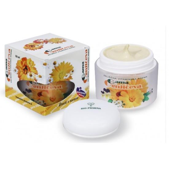Bio-Pharma Gama, ognjičeva zeliščna vitaminska krema Kozmetika