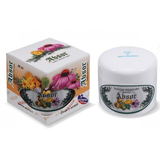 Bio-Pharma Absor, zeliščno vitaminsko mazilo Kozmetika