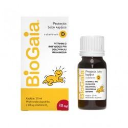 BioGaia Protectis Baby D3, probiotične kapljice za otroke in dojenčke - 10 ml