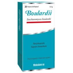 Boulardii, 20 probiotičnih kapsul s kvasovkam