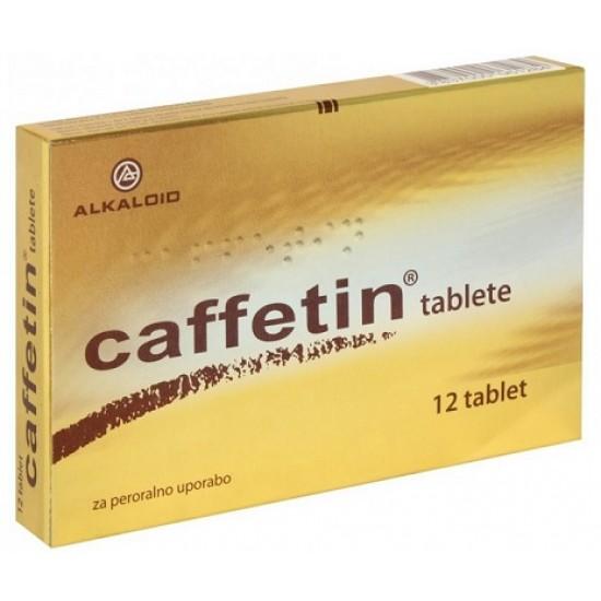 Caffetin tablete Zdravila brez recepta
