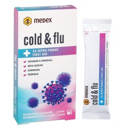 Cold Flu, instant napitek - 3x vrečka