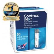 Contour Next, 50 testnih lističev za merjenje glukoze