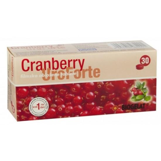 Cranberry UroForte, tablete Prehrana in dopolnila