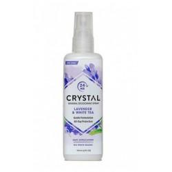 Crystal Essence Razpršilo, sivka in beli čaj